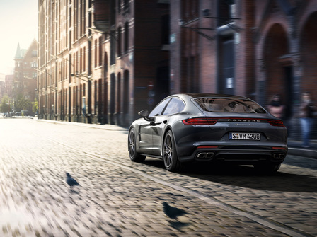The new Porsche Panamera Turbo.