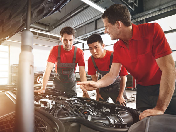 Porsche Service, maintenance and parts